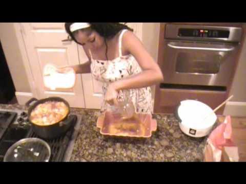 Deep Dish Peach Cobbler (Vegan)