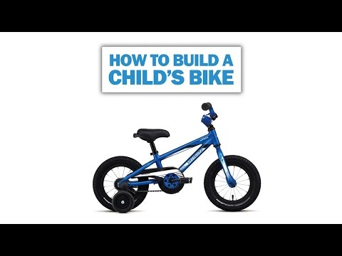 How to assemble a child's bike