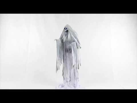 Phantom Rising Animated Halloween Prop Scary Haunted House Yard Scary Decor