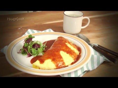Korean style omelette rice(오므라이스)_Koreanfood recipe(영어자막)ENG ver.