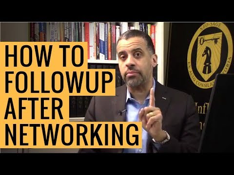 How to Follow Up After a Networking Event