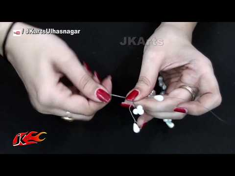 Easy Mother's Day Gift Idea | DIY Pearl bracelet | JK Arts 1386
