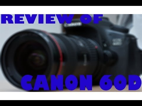 Review of Canon EOS 60D