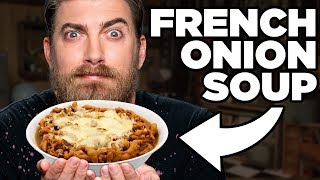 French Onion Soup Funnel Cake Taste Test