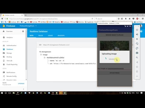 Android Firebase: Uploading and Retrieving File Using Firebase Storage - Part1