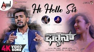 Fan | Hi Hello Sir | Kannada 4K Video Song | Aryan | Adhvithi Shetty | Samikshaa | Darshith Bhat