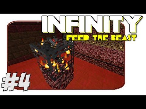 FTB Infinity - Wither Skeleton Farm - Part 4