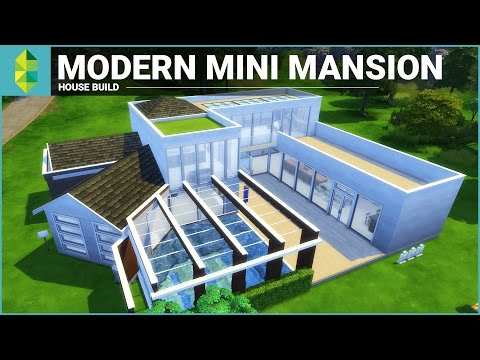 The Sims 4 House Building - Modern Mini Mansion