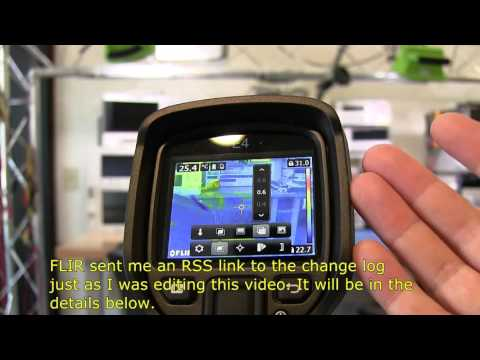 FLIR E4 Features with FW Updates