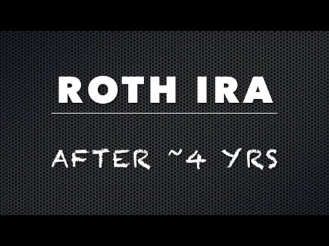 What's In My Roth IRA After 4 Years!