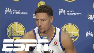 Klay Thompson embracing the hatred of the Warriors | ESPN