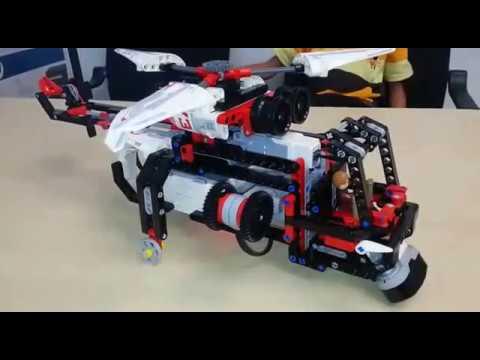 Lego EV3 Rescue Chopper