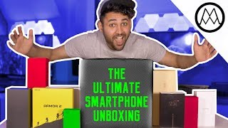 The ULTIMATE Smartphone Unboxing!!