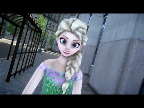Elsa with Emerald Dress - GTA 4 Mod