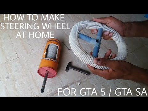 How To Make Steering Wheel By Using Only Mouse | Driving Simulator For GTA 5 / GTA San Andreas