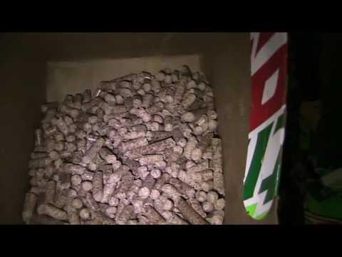 Using Pellets as Fire starter in Wood Stove Oil Burner