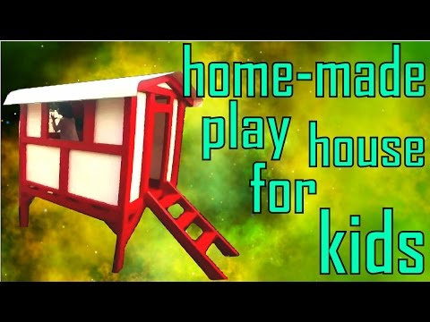 DIY | How to Build a Play House for Kids