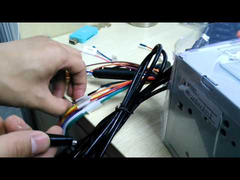 How to set and learn steering wheel control on the car stereo DVD Player