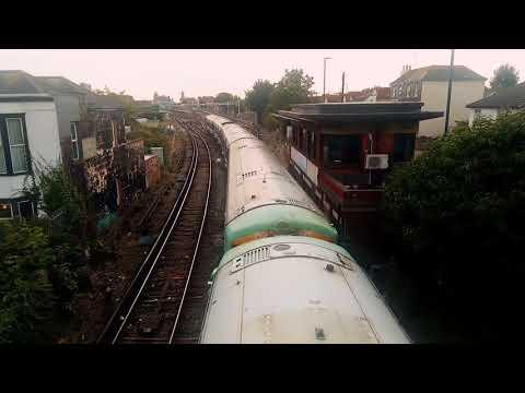 Inter City Train From Bognor Regis to London Victoria