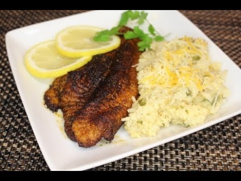 Blackened Catfish (Saturday Meal) (Legacy)💋
