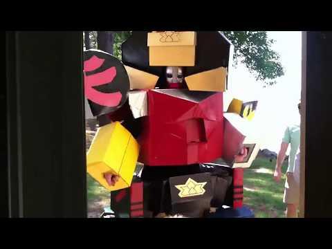 Power Rangers Samurai Megazord DIY Costume reveal