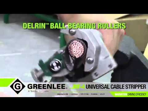 Greenlee JRF 4 Universal Cable Stripping Tool