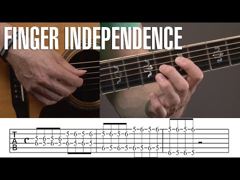 Finger Independence Exercises for Guitar