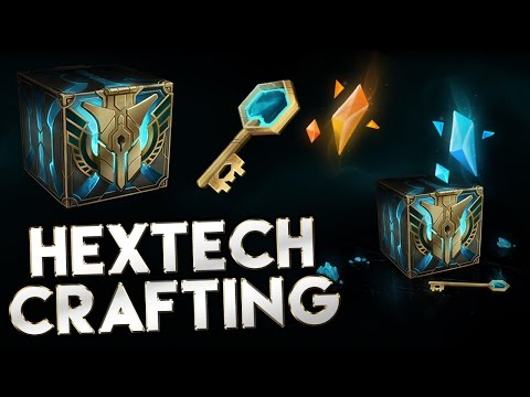 Hextech Crafting Preview - League of Legends