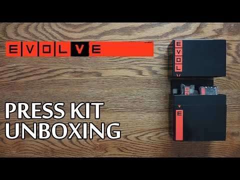 Evolve PS4 Press Kit Edition Unboxing & Review - HD 1080p