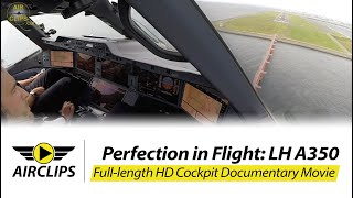 Download Airbus A350 Lufthansa ULTIMATE COCKPIT MOVIE + Business Class Tokyo [AirClips full flight series]