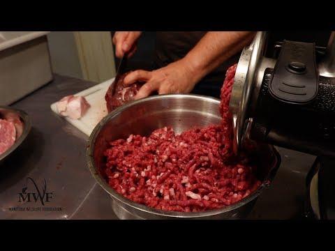 Making Venison Burger