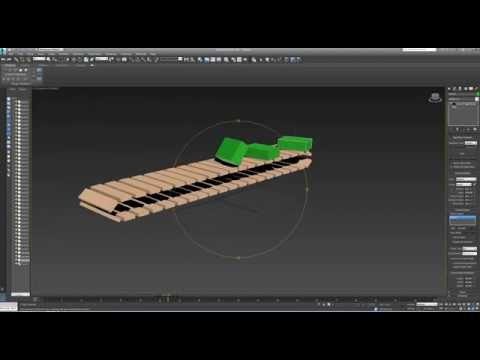 The simple conveyor belt animation - 3DS MAX tutorial - Part 1