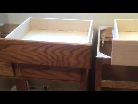 Staining cabinets