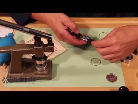 How to Press Tension Ring Crystals Using a Crystal Press
