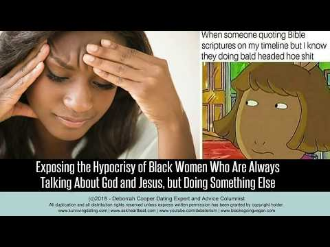 Single Black Women and Hypocritical Christianity
