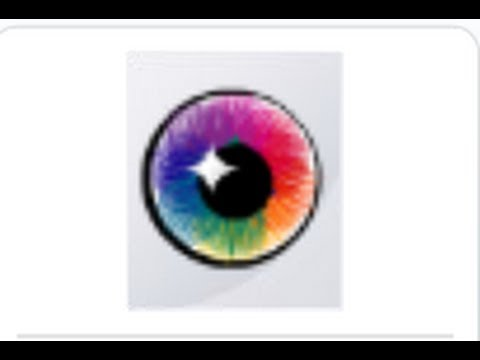 How to make a rainbow eye lense on stardoll