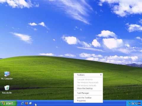 Introduction To Windows XP - How To Delete Windows Shortcuts