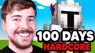 I Survived 100 Days Of Hardcore Minecraft!