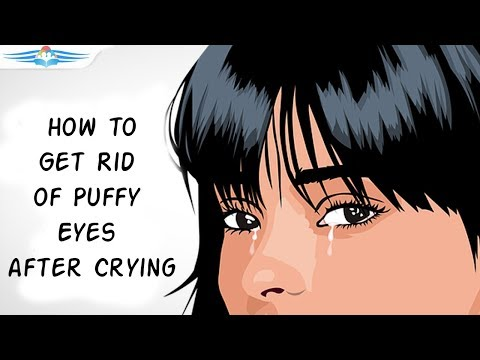 Get Rid Of Puffy Eyes After Crying