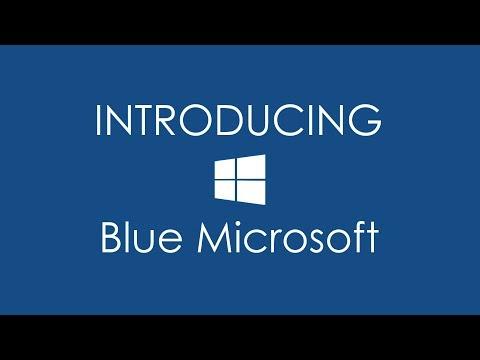 HTC Themes: Blue Microsoft