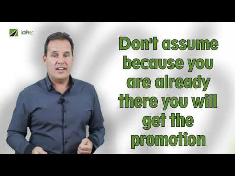 JobPrep The Promotion - 08 How to ask for a Promotion