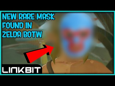 NEW MASK FOUND IN ZELDA BOTW IN 1.1.2?!?!? (late April fools)