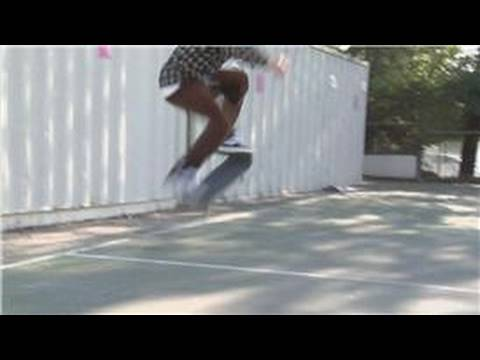 Skateboarding Tricks : How to Ollie Higher