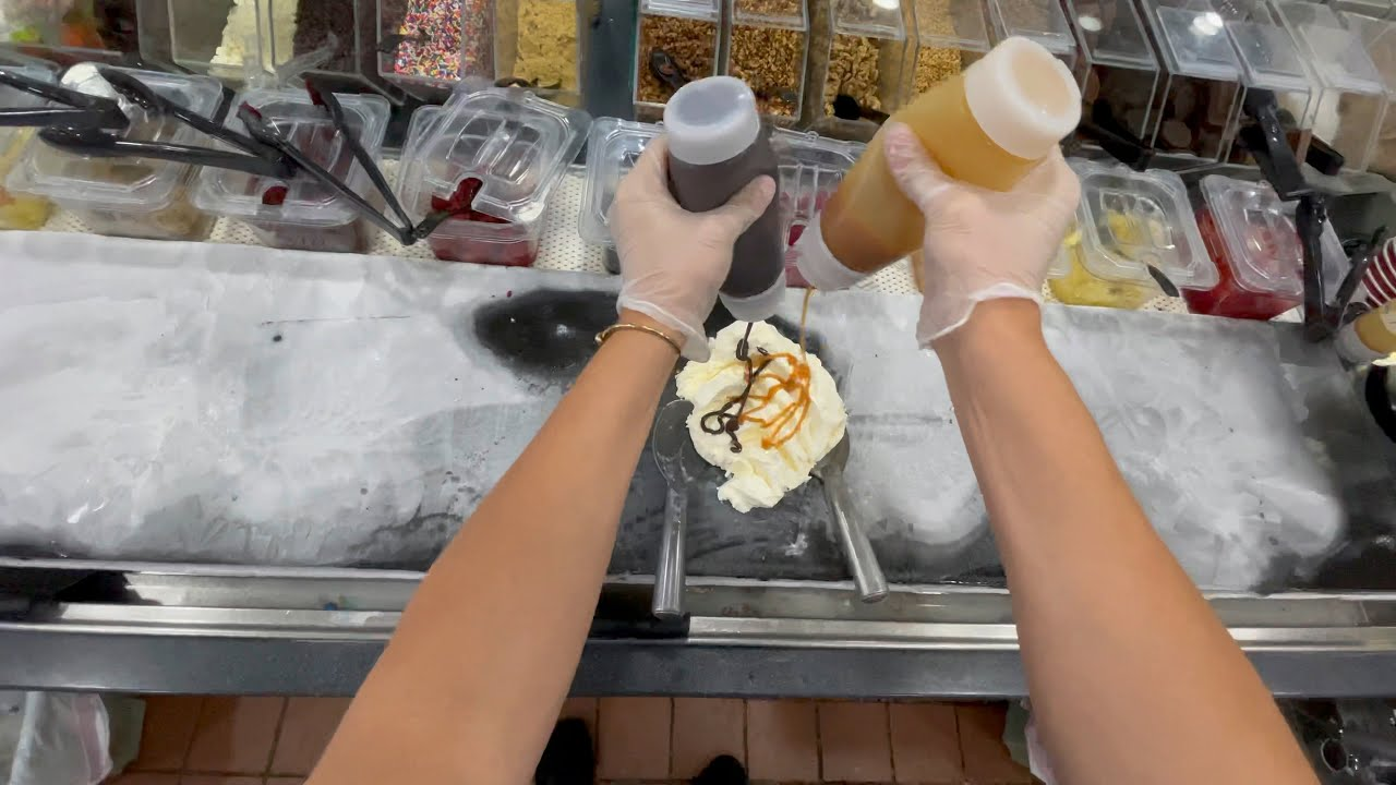 You changed my life. Now we're opening an ice cream store!