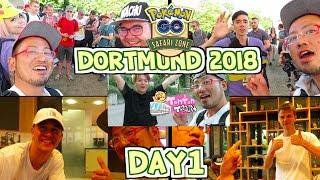 【Pokémon GO in Dortmund】SAFARI ZONE DAY1! RARE POKEMONS in POKÉMON GO! | Tonton Train