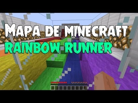 Rainbow Runner Mapas de Minecraft #2