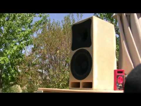 DIY speaker design, Celstion TF0818 + DNA-150 in DW-774S waveguide