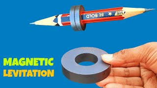 Levitating Pencil With Magnet Science Project