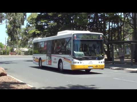Buses at Monash University (2012) - Melbourne Transport