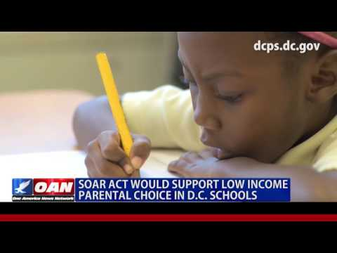SOAR Act Would Support Low Income Parental Choice in DC Schools